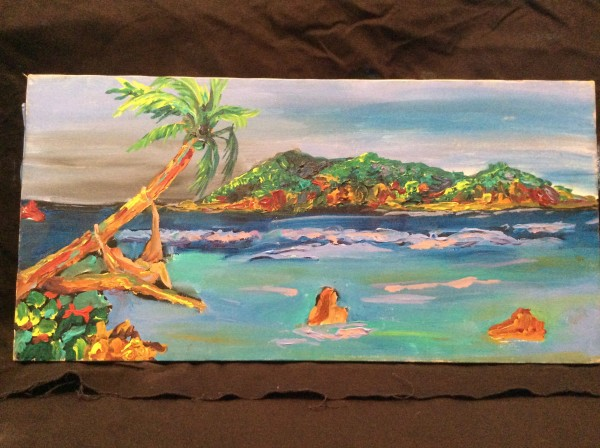 Landscape Beach by Frenchy