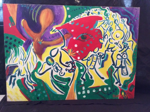 Picasso Second Line by Frenchy