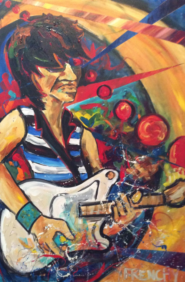 Jeff Beck by Frenchy