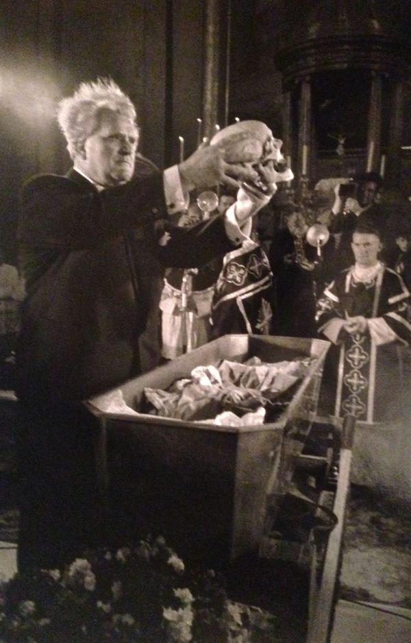Church Bergkirche, Eisenstadt, Austria: Search Results for the Skull of Joseph Haydn by Erich Lessing