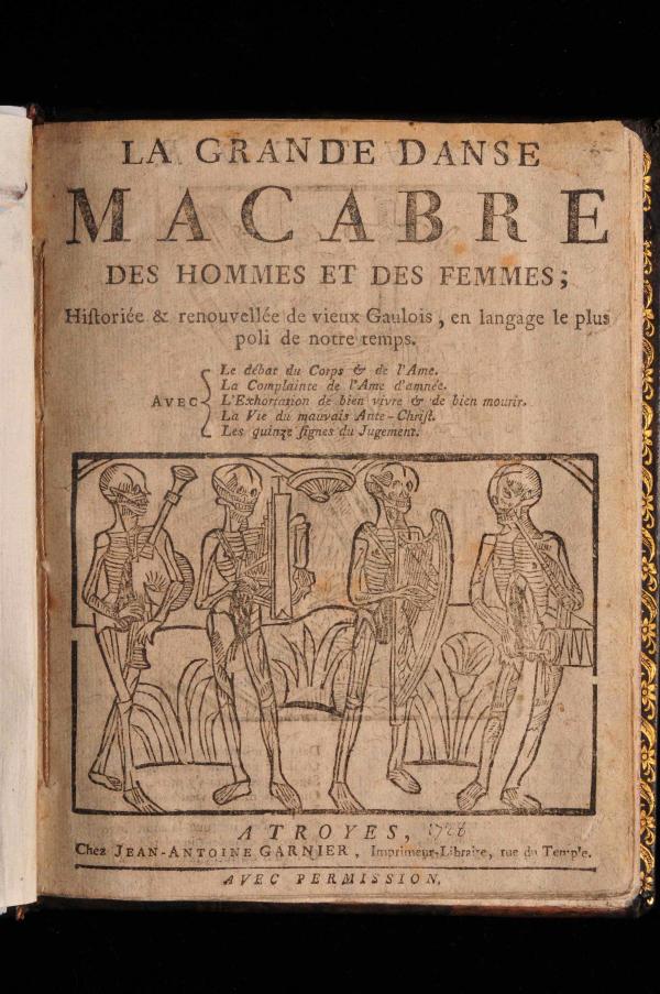 La Grande Danse Macabre by Jean- Antoine Garnier