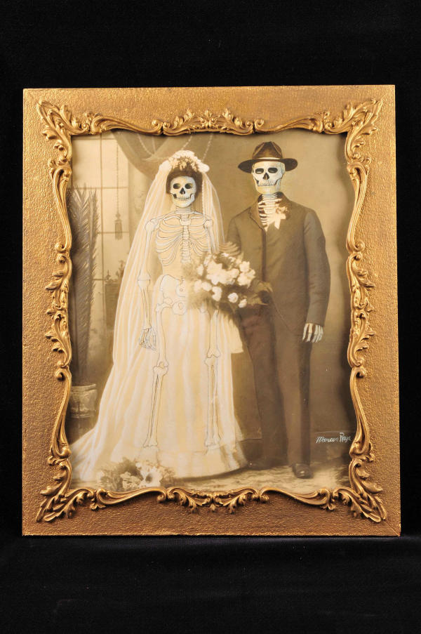 Untitled (family portrait: wedding) by Marcos Raya