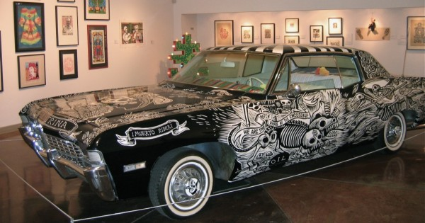 Muertorider (1968 Chevy Impala) by Artemio Rodríguez and John Jota Leaños