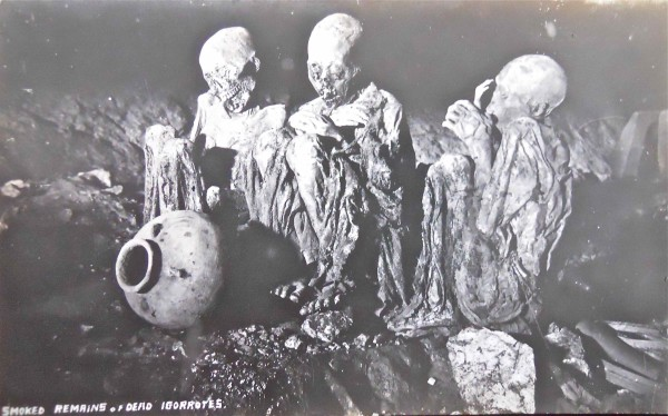 Smoked Remains of Igorrote Ancestors, Luzon by Unknown