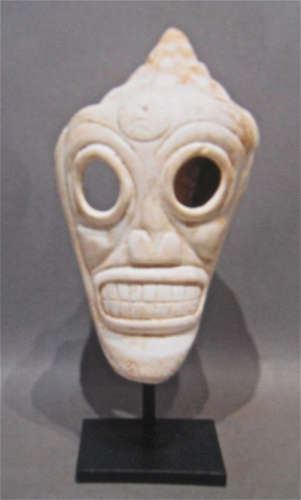 Santa Domingo Taino Skull (1) by Unknown