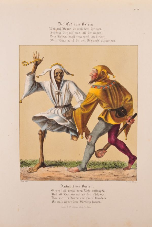 The Dance of Death (1) by Wenzel Hollar