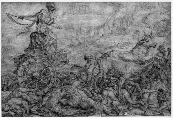 The Triumph of Death by Marinus van Reymerswaele
