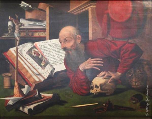 St. Jerome in his Study by Marinus van Reymerswaele