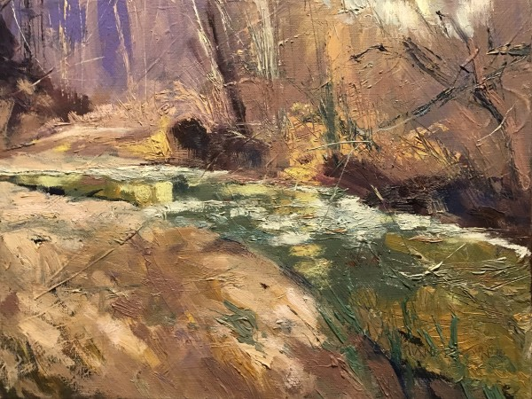 Bend In The Creek by Michael Anderson
