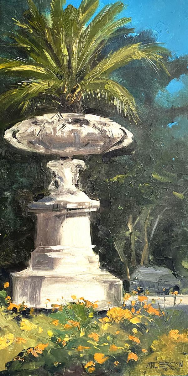 Art Nouveau Planter, Tower Grove Park by Michael Anderson