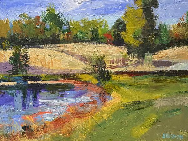 Weingarten Landscape by Michael Anderson