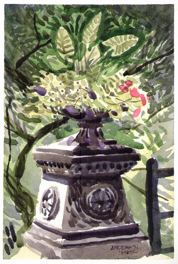 Lafayette Park Planter by Michael Anderson