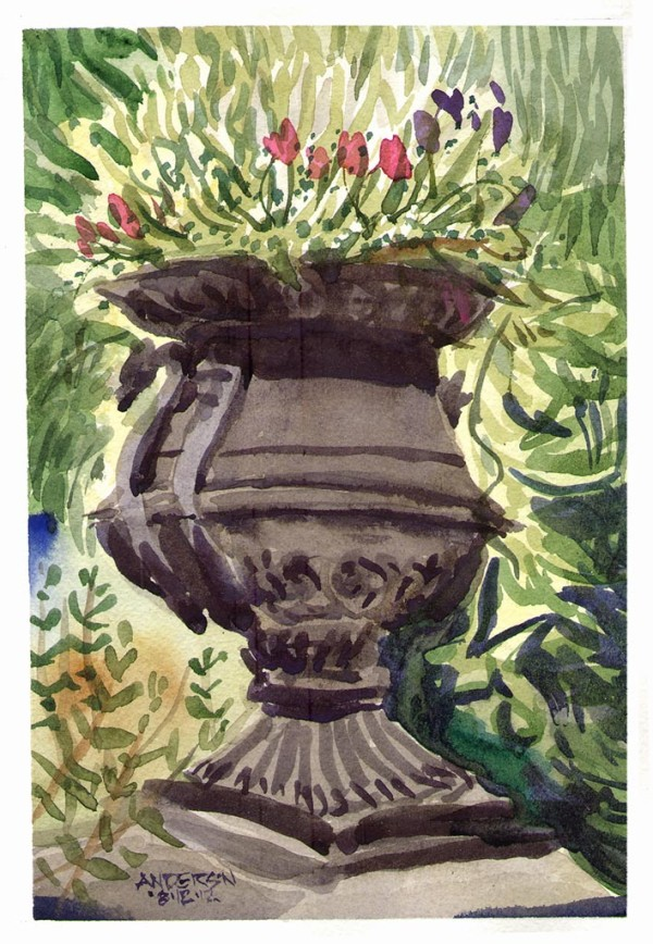 Lafayette Park Urn by Michael Anderson