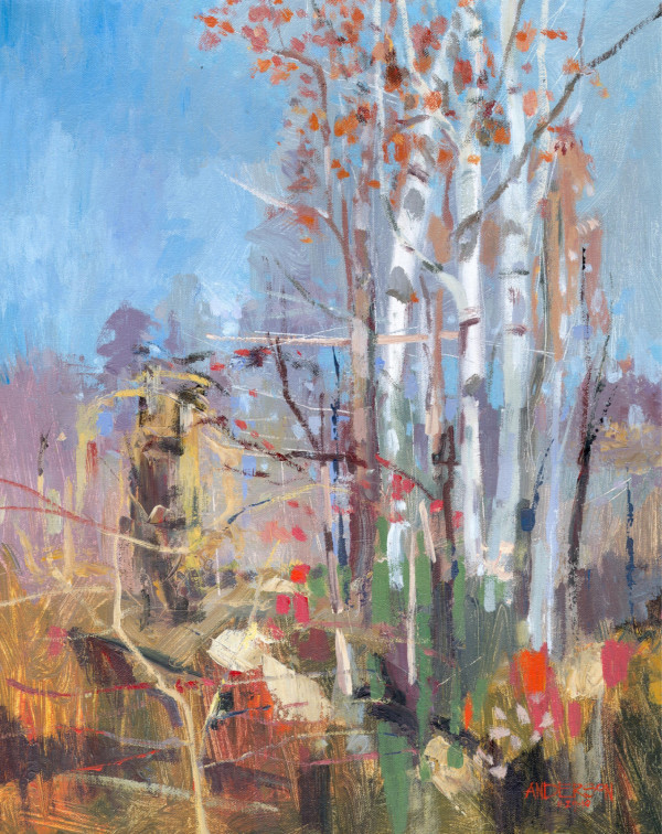November Trees by Michael Anderson
