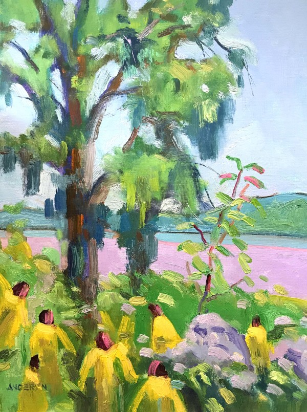 A Tree By The River by Michael Anderson