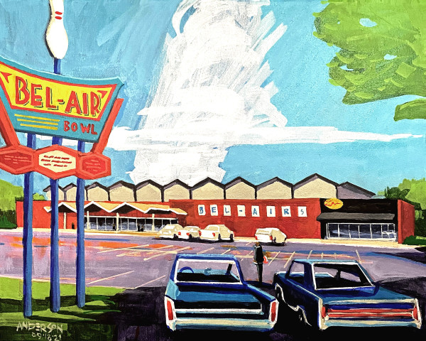 Bel Air Bowl by Michael Anderson