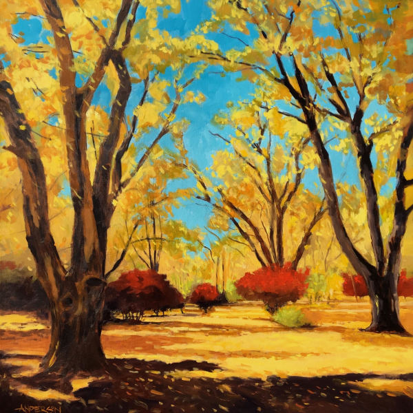 Autumn Scene by Michael Anderson