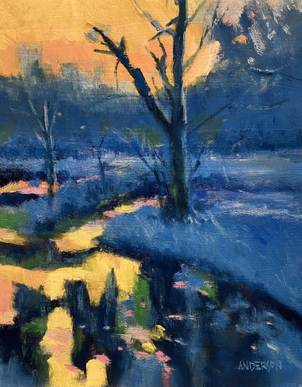 Daybreak, Forest Park by Michael Anderson