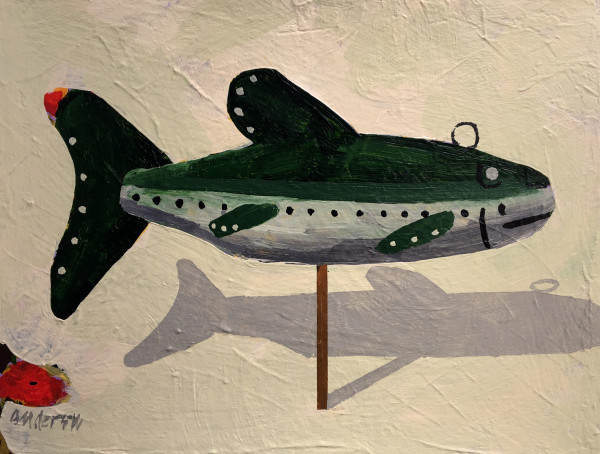 Fish Decoy 1 by Michael Anderson