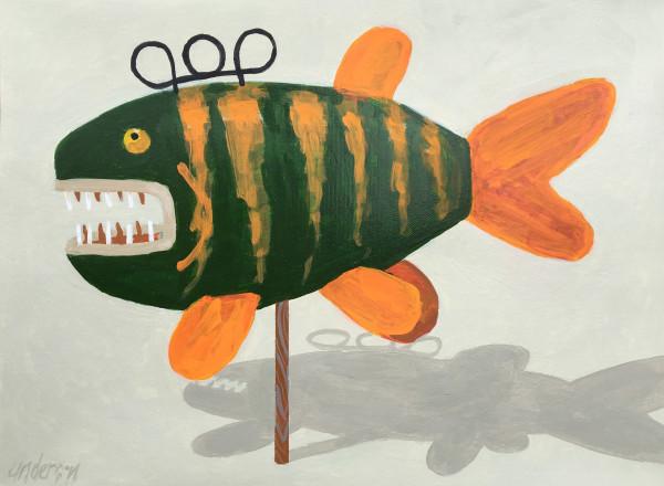 Fish Decoy 2 by Michael Anderson