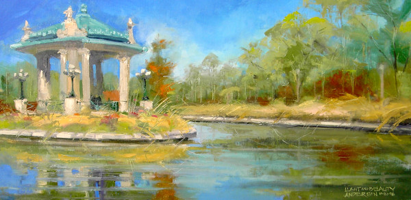 Light and Beauty, Pagoda Circle by Michael Anderson