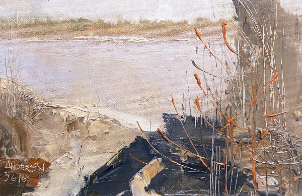 River Atmosphere, End of Winter by Michael Anderson