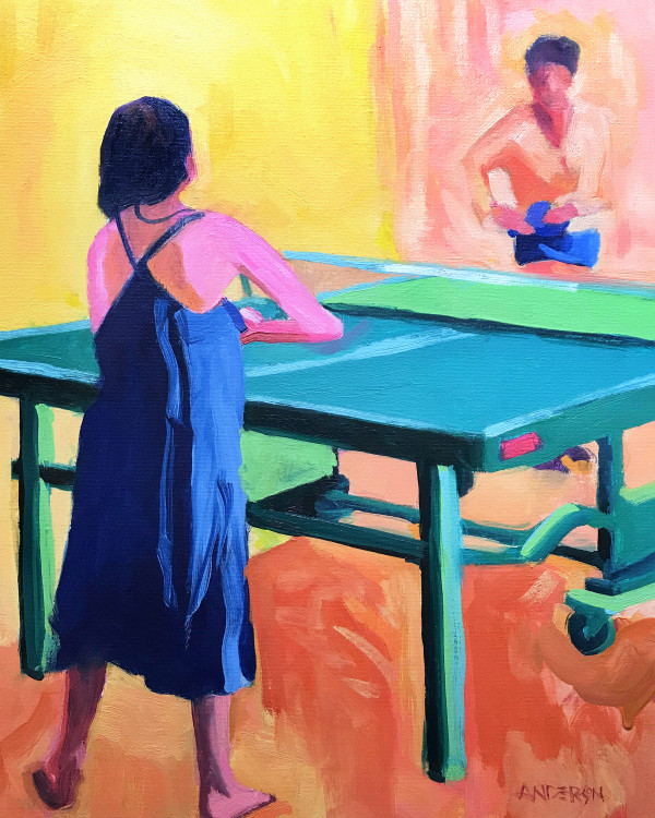 Table Tennis by Michael Anderson