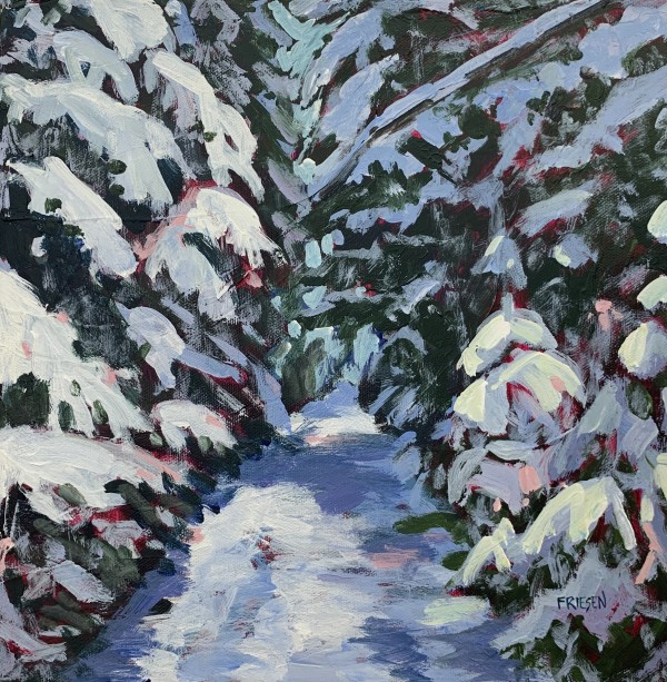 Snow Laden by Holly Friesen
