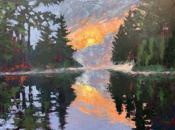 The Symmetry of the Moving Sky by Holly Friesen