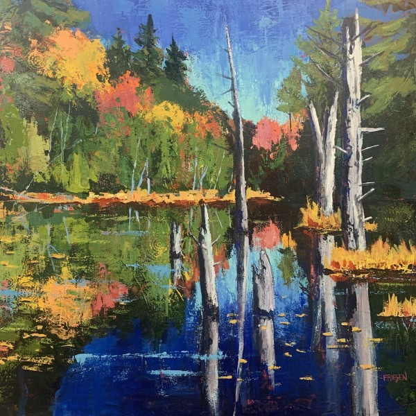 Miracle Reflection by Holly Friesen