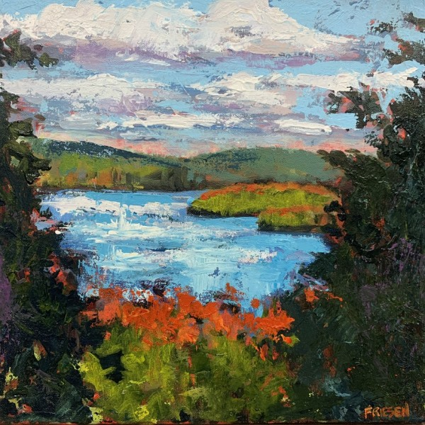 Harwood Lookout (study) by Holly Friesen