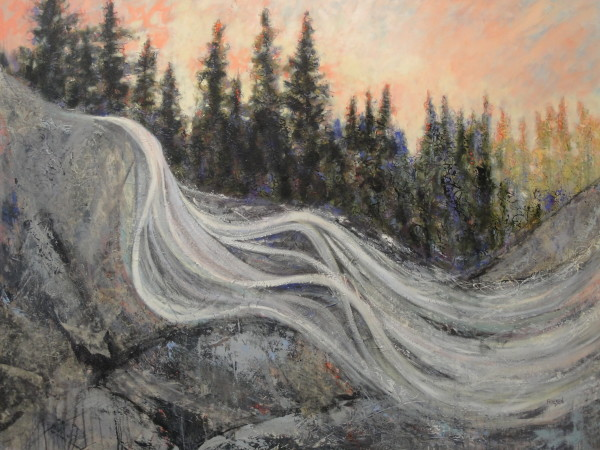 River, Roaring Rush by Holly Friesen