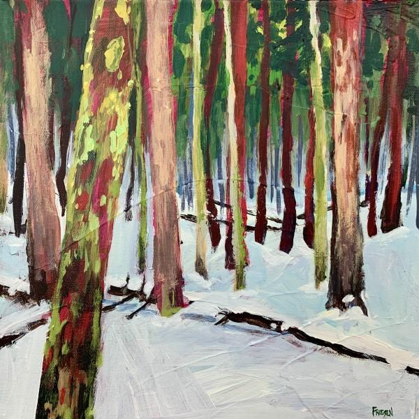 Forest Walk by Holly Friesen