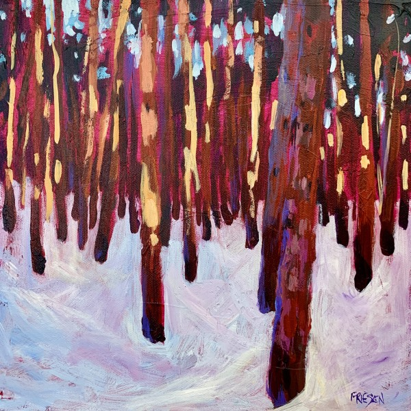 Sparkle Forest by Holly Friesen
