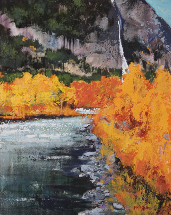 October River by Holly Friesen