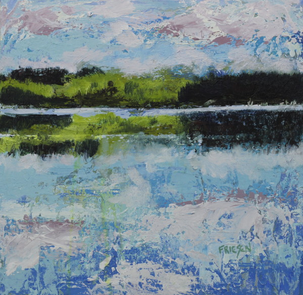 Sky Reflection by Holly Friesen