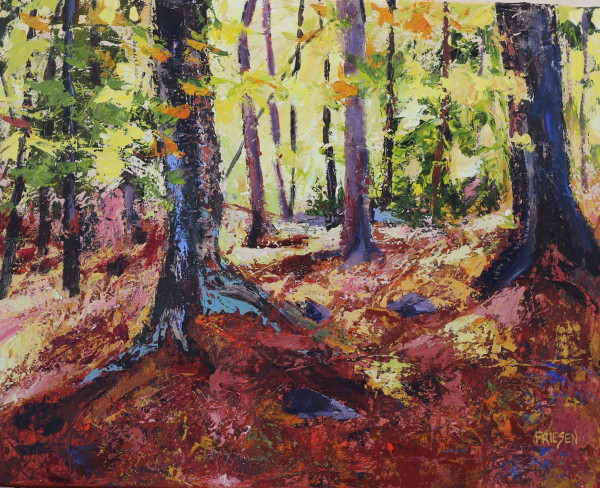 Cascades of Light by Holly Friesen