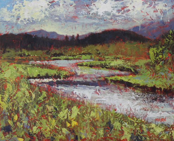 River Morning by Holly Friesen