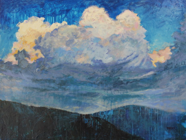 Rapture in a Mosaic Sky by Holly Friesen