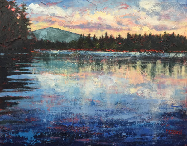 Evening Glow by Holly Friesen