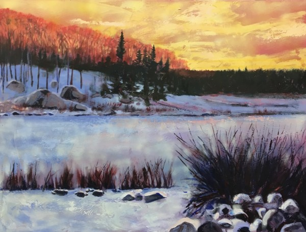 Winter Solstice Morning by Holly Friesen