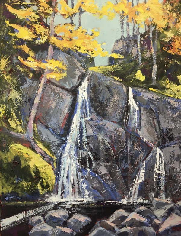 Moss Glenn Falls by Holly Friesen