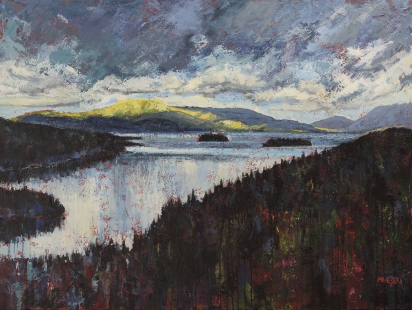 Sky Above Lac Tremblant by Holly Friesen