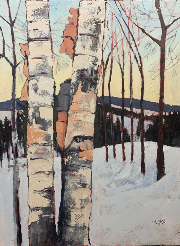 Birch Bark Twist by Holly Friesen
