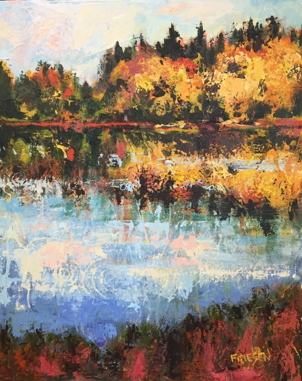 Autumn Morning in the Adirondacks by Holly Friesen