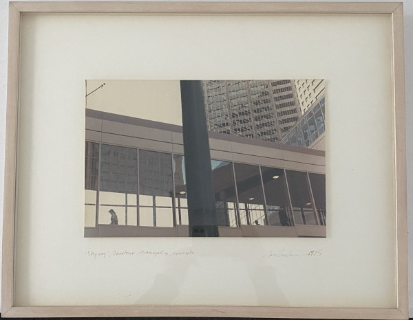 'Skyway', Downtown Minneapolis, Minnesota by Dan Graham