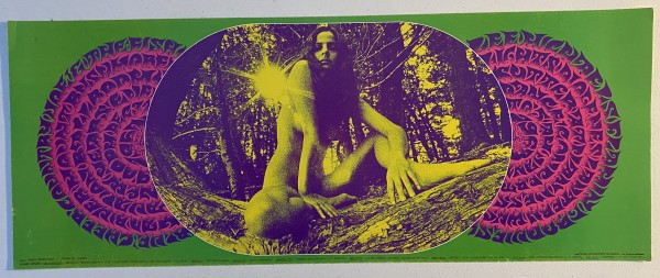 """""""Sitting Pretty,"""" Blue Cheer, Country Joe & the Fish, Lee Michaels, Flamin' Groovies, Mad River, Mount Rushmore, December 31, Avalon Ballroom by Bob Schnepf Thomas Weir"""