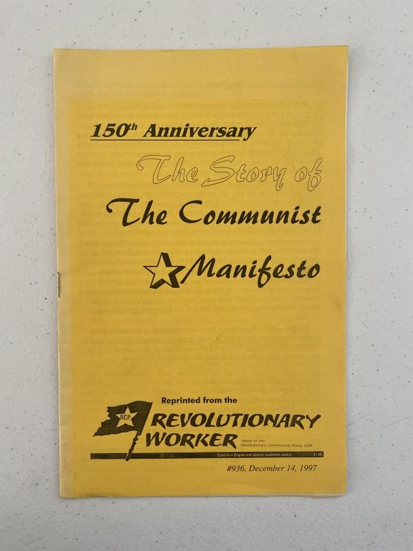 150th Anniversary: The Story of the Communist Manifesto