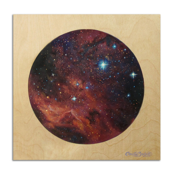 16: Large Magellanic Cloud by Christie Snelson
