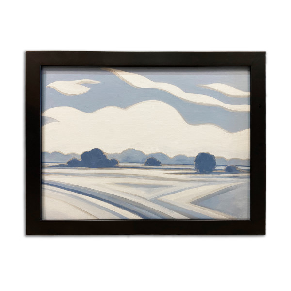Abstract Landscape Study I by Christie Snelson